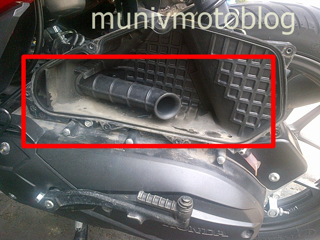 Modifikasi Filter Udara Vario 125 Kumpulan Modifikasi Motor Vario