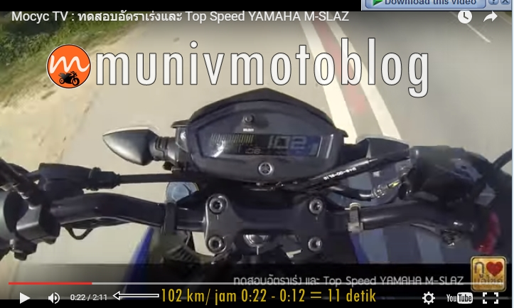 top speed yamaha mt15 1-2 km munivmotoblog