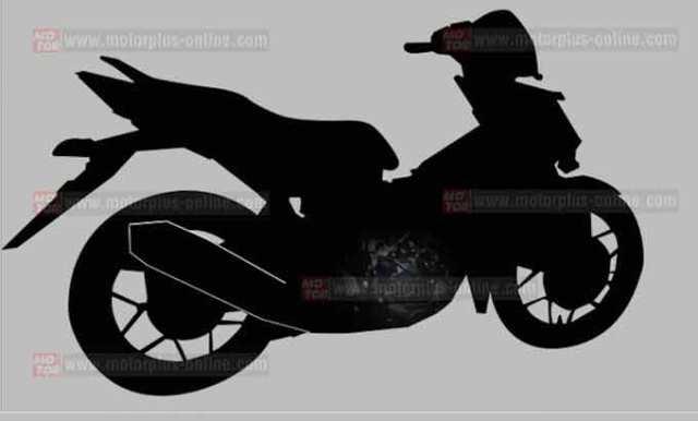 supra-x-150cc-siluet