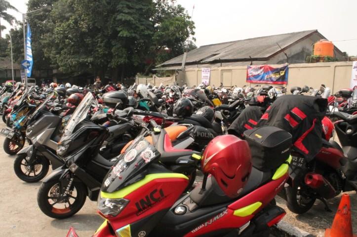 NMAX milik komunitas-komunitas di perayaan ulang tahun ke-2 Jakarta Max Owners