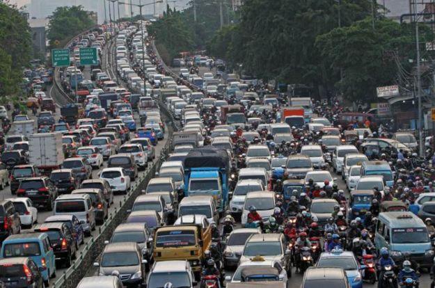 kemacetan ibu kota