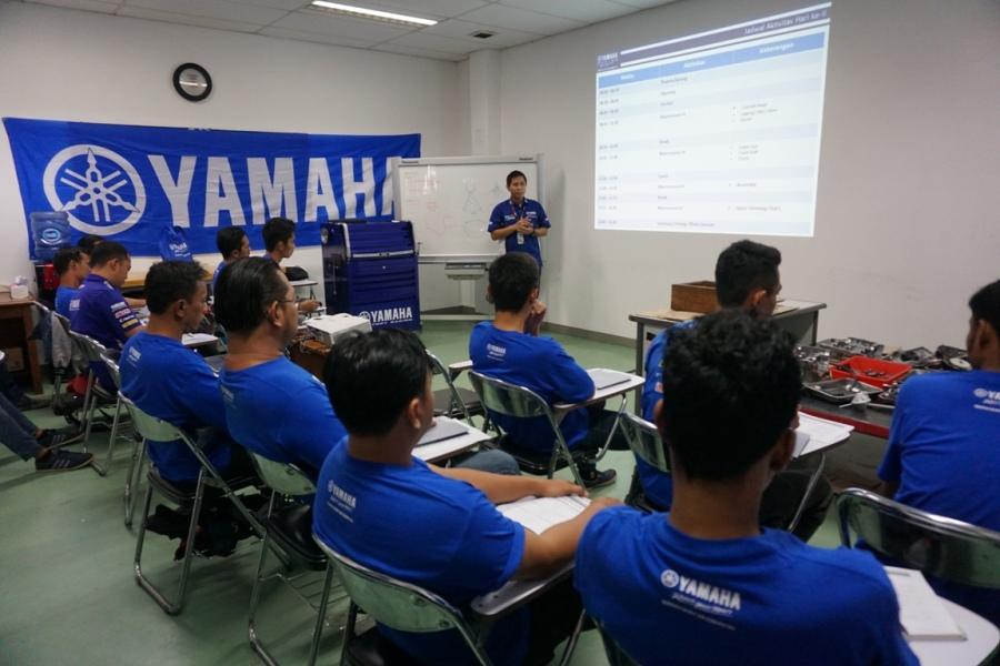 Wahyu Rusmayadi, selaku Koordinator YTA Race Motorsport PT. YIMM