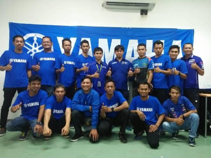 Yamaha mengundang tim yang bergabung di Kejurnas Sport IRS (Indospeed Race Series)