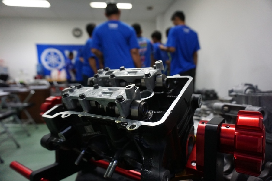 Yamaha Racing Indonesia Konsisten Memberikan Edukasi Kepada Teknisi