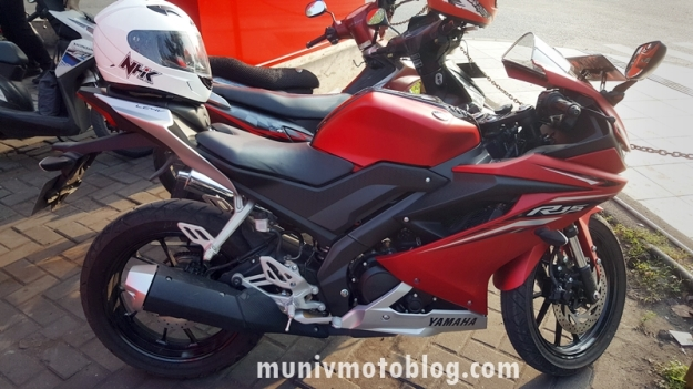 daily review dan test ride all new yamaha r15 siap siap. Black Bedroom Furniture Sets. Home Design Ideas