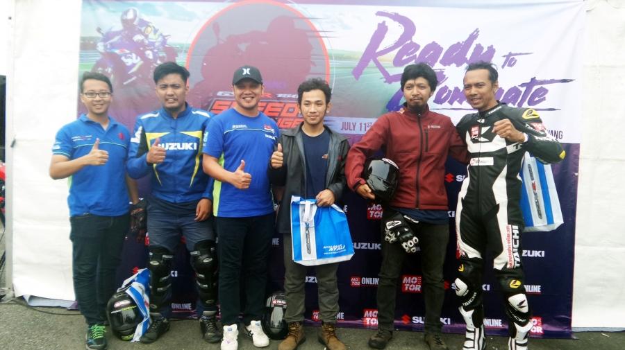Speed Challenger juara GSX-S150