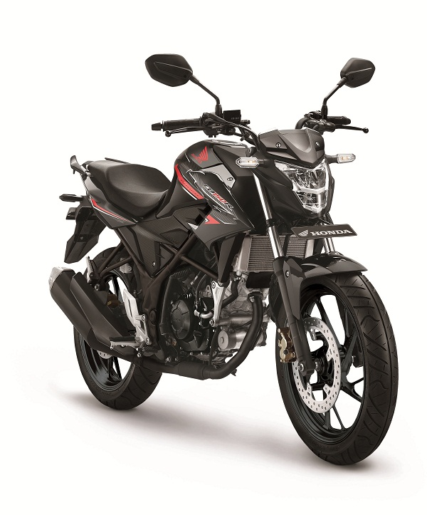 Honda-CB150-Standart-Edition Macho Black