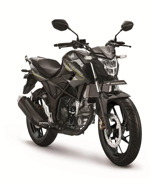 Honda-CB150-Standart-Edition Wild Black