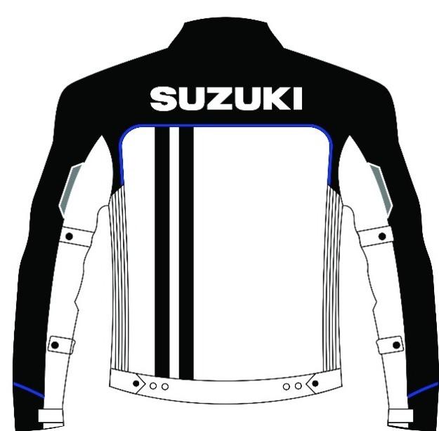 Jacket sporty GSX - Back