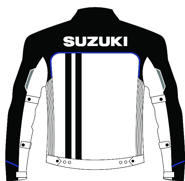 Jacket sporty GSX - Back