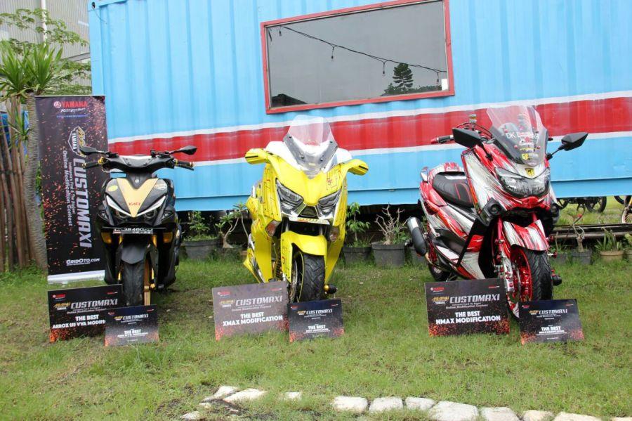 Pemenang semifinal CustoMAXI di Bali (kelas NMAX, XMAX, AEROX 155) (1)