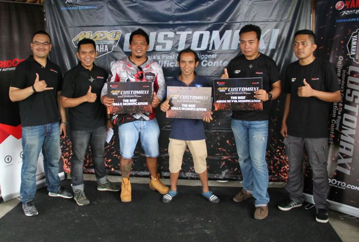 Pemenang semifinal CustoMAXI di Bali (kelas NMAX, XMAX, AEROX 155) (2)