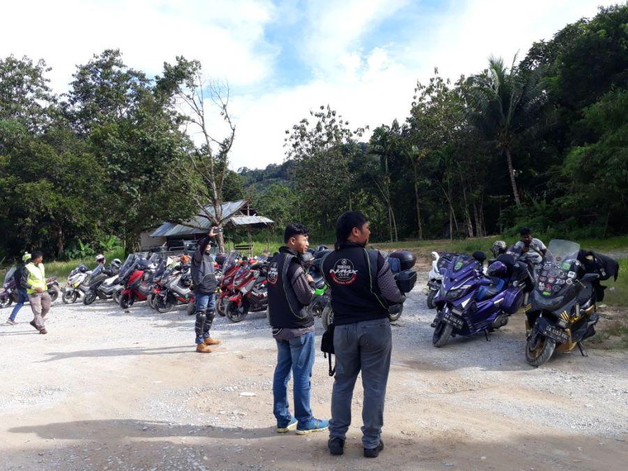 Yamaha NMAX Club Indonesia (YNCI) saat di Serikin Sarawak, Malaysia (2)