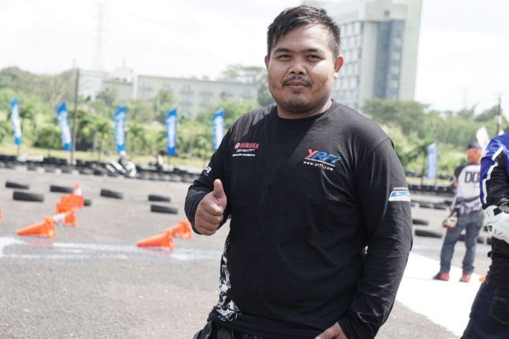 Rizky Muhamad Marjuki - Ketua Umum Yamaha Riders Federation Indonesia (YRFI) Bogor