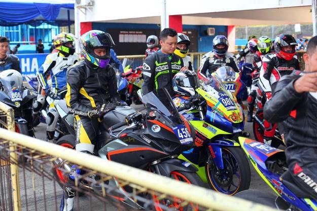 Yamaha Sunday Race 2018 yang diramaikan 215 starter di seri pertamanya