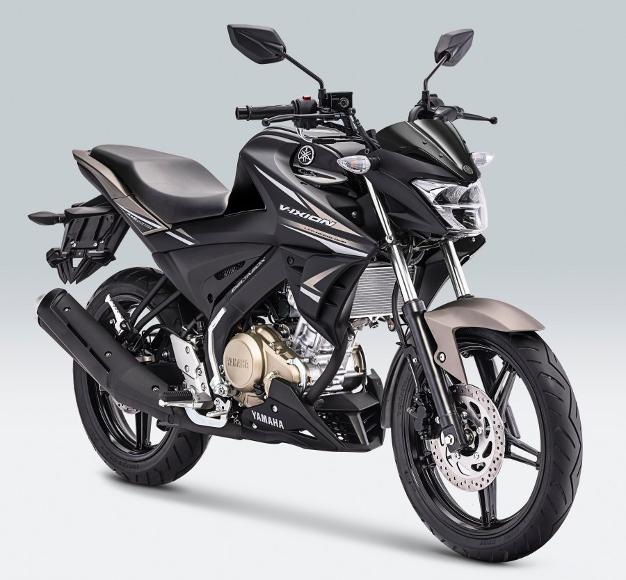 All New Vixion Metallic Black