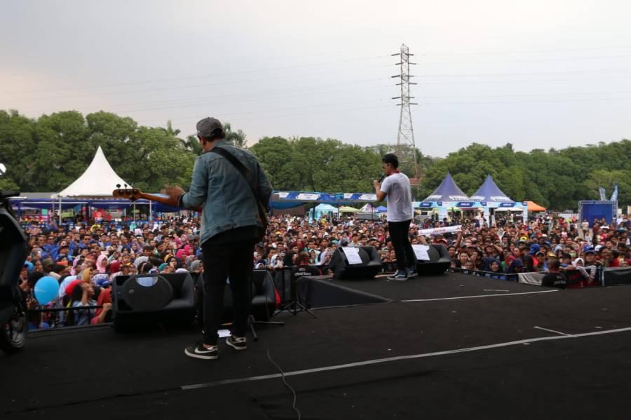 Armada band tampil di Yamaha Endurance Festival 2018 (3)