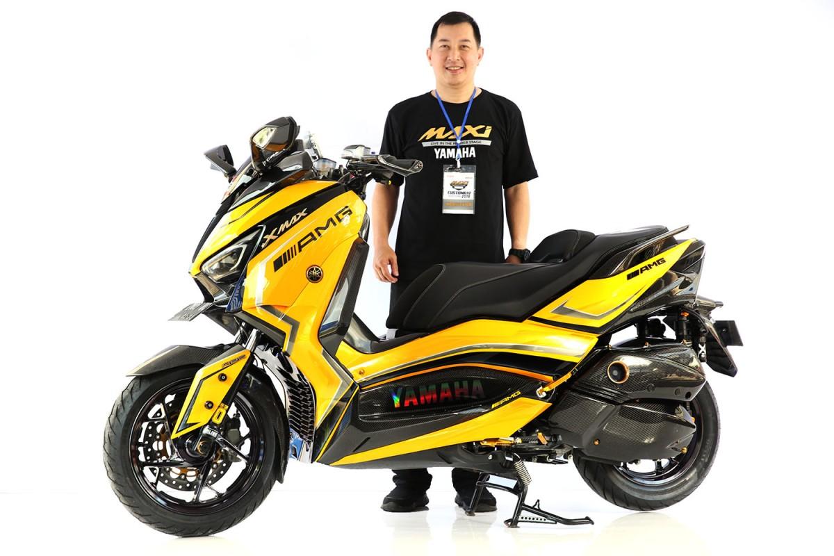Intip Pemenang Yamaha CutoMAXI Surabaya.... XMax ala Sultan Neh